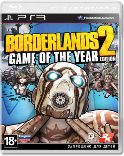 Диск Borderlands 2: Game Of The Year [PS3]