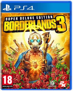 Диск Borderlands 3 Super Deluxe Edition [PS4]