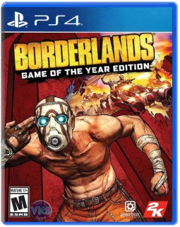 Диск Borderlands: Game of the Year Edition (Б/У) [PS4]