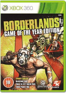 Диск Borderlands: Game Of The Year [X360]