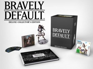Диск Bravely Default - Deluxe Collector's Edition [3DS]
