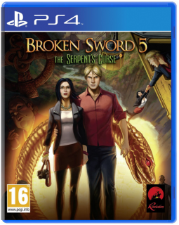 Диск Broken Sword 5: The Serpent's Curse (Б/У) [PS4]