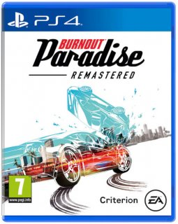 Диск Burnout Paradise Remastered [PS4]