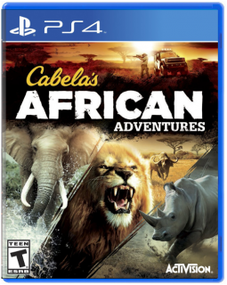 Диск Cabela's African Adventures [PS4]