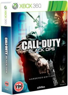 Диск Call of Duty: Black Ops. Hardened Edition (Б/У) [X360]