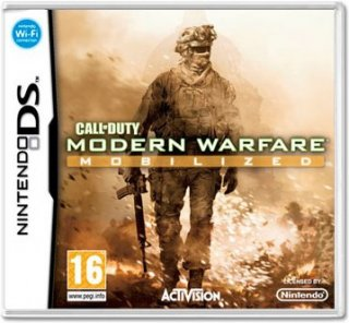 Диск Call of Duty. Modern Warfare: Mobilized