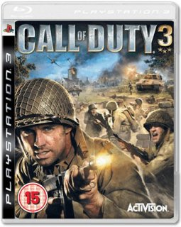 Диск Call of Duty 3 (Б/У) [PS3]