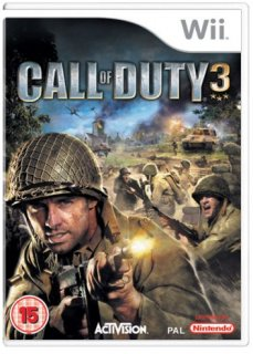 Диск Call of Duty 3 (Б/У) [Wii]
