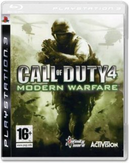 Диск Call of Duty 4: Modern Warfare [PS3]