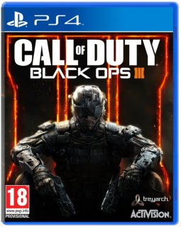 Диск Call of Duty: Black Ops 3 (III) (англ. яз.) (Б/У) [PS4]
