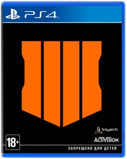 Диск Call of Duty: Black Ops 4 (IV) [PS4]