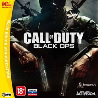 Диск Call of Duty: Black Ops [PC, Jewel]