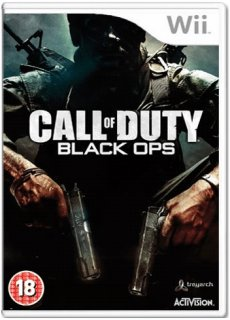 Диск Call of Duty: Black Ops [Wii]