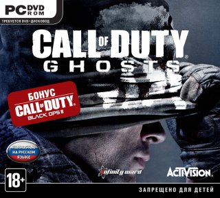 Диск Call of Duty: Ghosts + Call of Duty: Black Ops 2 [PC]