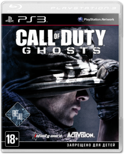 Диск Call of Duty: Ghosts - Free Fall Edition [PS3]