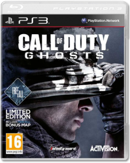 Диск Call of Duty: Ghosts (англ. версия) [PS3]