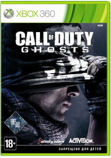 Диск Call of Duty: Ghosts - Free Fall Edition [X360]