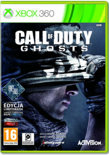 Диск Call of Duty: Ghosts - Free Fall Edition (Англ. версия) [X360]