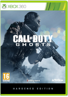 Диск Call of Duty: Ghosts - Hardened Edition [X360]