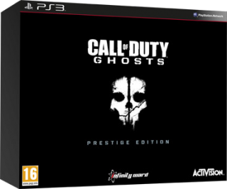 Диск Call of Duty: Ghosts - Prestige Edition [PS3]