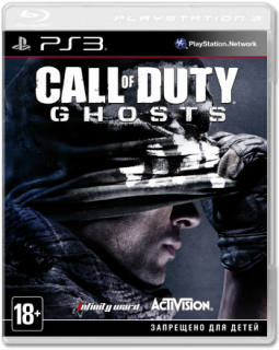Диск Call of Duty: Ghosts (Б/У) [PS3]