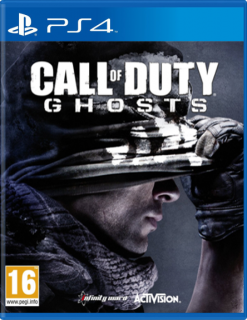 Диск Call of Duty: Ghosts. Free Fall Edition [PS4]