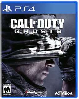 Диск Call of Duty: Ghosts Англ. версия (Б/У) (US) [PS4]