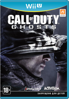 Диск Call of Duty: Ghosts (Б/У) [Wii U]