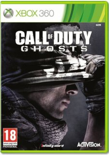 Диск Call of Duty: Ghosts (Б/У) [X360]