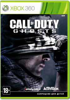 Диск Call of Duty: Ghosts [X360]