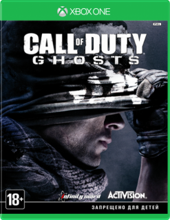 Диск Call of Duty: Ghosts (Б/У) [Xbox One]