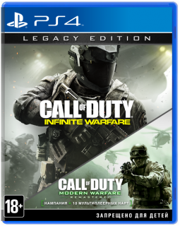 Диск Call of Duty: Infinite Warfare - Legacy Edition [PS4]