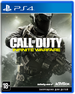 Диск Call of Duty: Infinite Warfare [PS4]