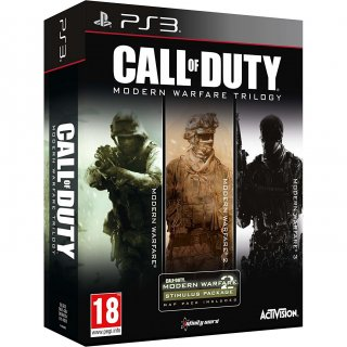 Диск Call of Duty: Modern Warfare Collection Trilogy [PS3]