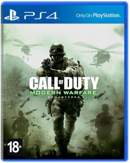Диск Call of Duty: Modern Warfare Remastered [PS4]