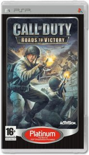 Диск Call of Duty: Roads to Victory (Б/У) [PSP]