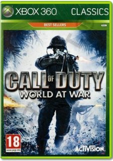 Диск Call of Duty: World at War (Б/У) [X360]
