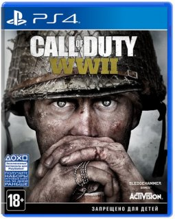 Диск Call of Duty: WWII [PS4]