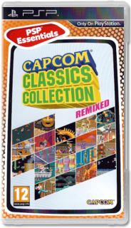 Диск Capcom Classic Collection Remix [PSP]