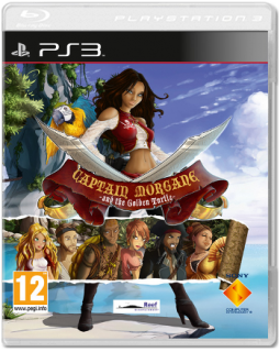 Диск Captain Morgane and the Golden Turtle [PS3, PS Move]