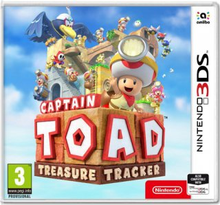 Диск Captain Toad: Treasure Tracker [3DS]