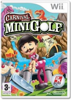 Диск Carnival Funfair Games: Mini Golf (Б/У) [Wii]