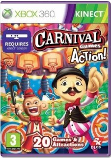 Диск Carnival Games: In Action [X360, Kinect]