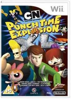 Диск Cartoon Network : Punch Time Explosion XL (Б/У) [Wii]