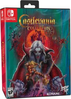 Диск Castlevania Anniversary Collection - Bloodlines Edition [NSwitch]