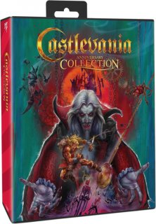 Диск Castlevania Anniversary Collection - Bloodlines Edition [PS4]