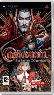 Диск Castlevania: The Dracula X Chronicles [PSP]