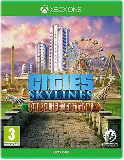 Диск Cities Skylines - Parklife Edition [Xbox One]