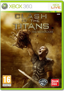 Диск Clash of the Titans (Б/У) [X360]