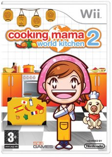 Диск Cooking Mama 2: World Kitchen (Б/У) [Wii]